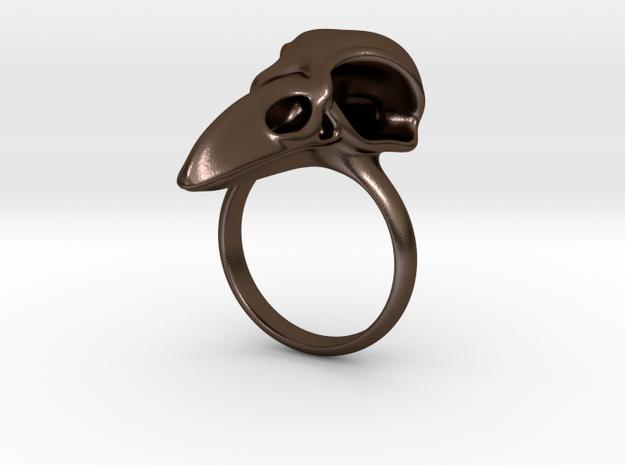 C. corax: skull 3d printed
