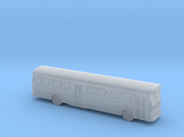 GM FishBowl Bus Ultra - Z Scale 3d printed