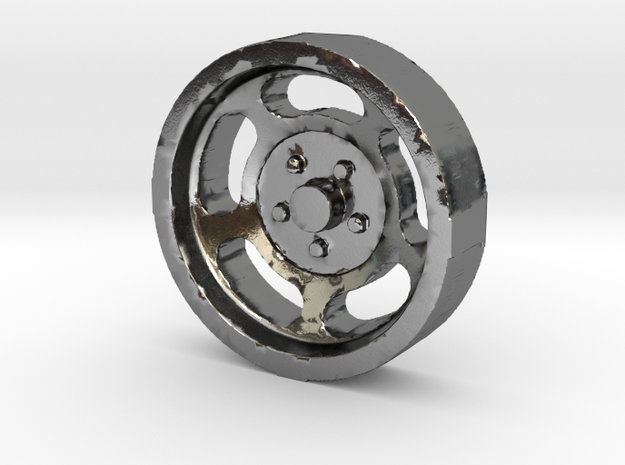 Aluminum Slotted Wheel - BSF 3d printed