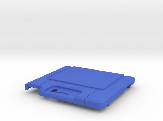 TED V1 Standard Shell  in Blue Processed Versatile Plastic
