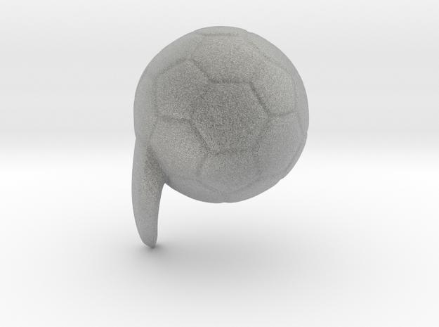 football mod 3d printed