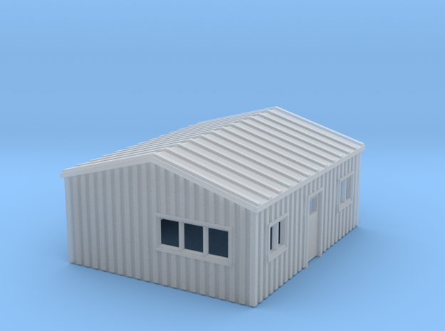 Z Scale Yard Office in Smooth Fine Detail Plastic