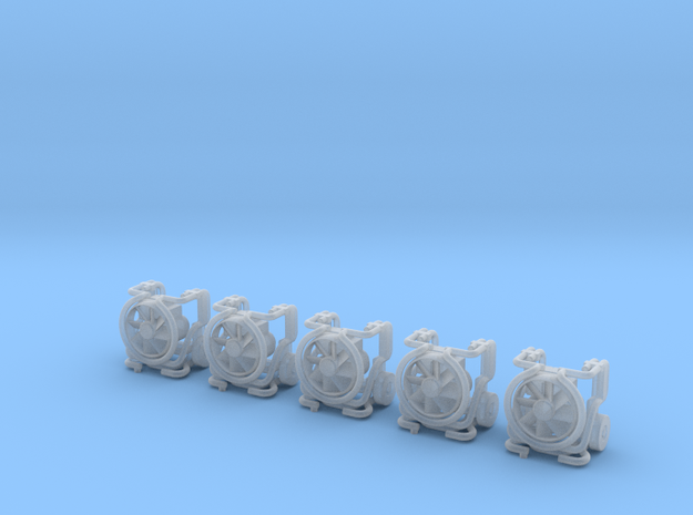 Leader-Lüfter MT 236 Eingeklappt 5x 3d printed