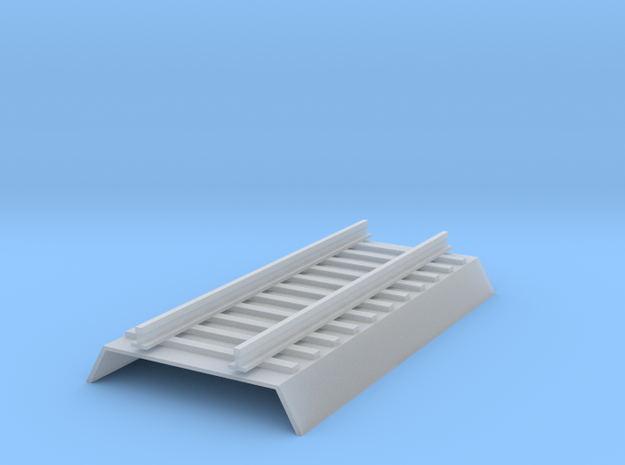 RoadBed Track - Z scale 3d printed
