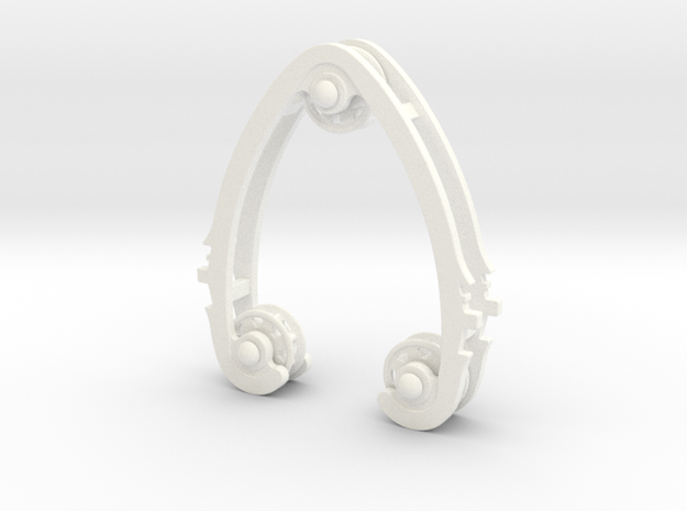 Geared Widget #2 of 5 in White Strong & Flexible Polished