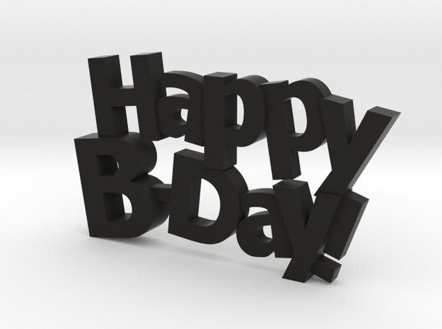 Happy Birthday :) 3d printed