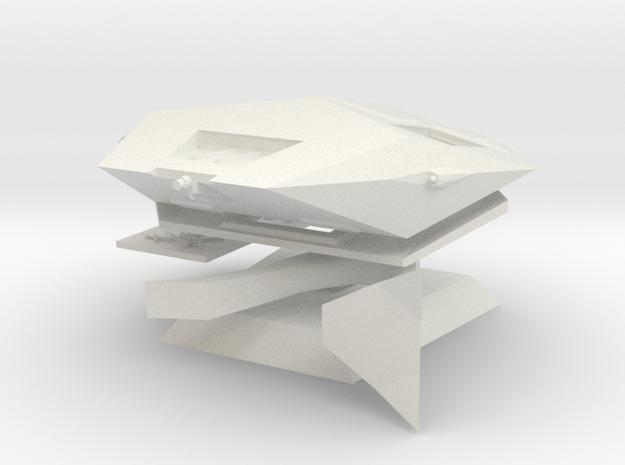 Asp Mark II Model Kit in White Strong & Flexible