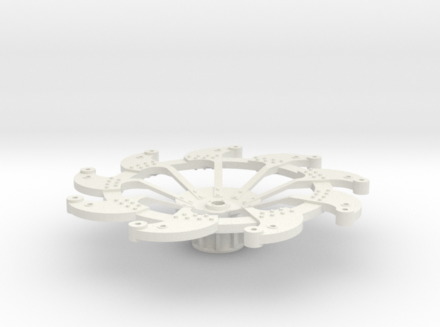 Paddlewheel Front 3d printed