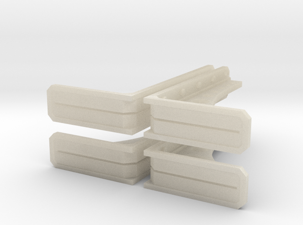 Structural Wall Brace 1 (x4) 3d printed