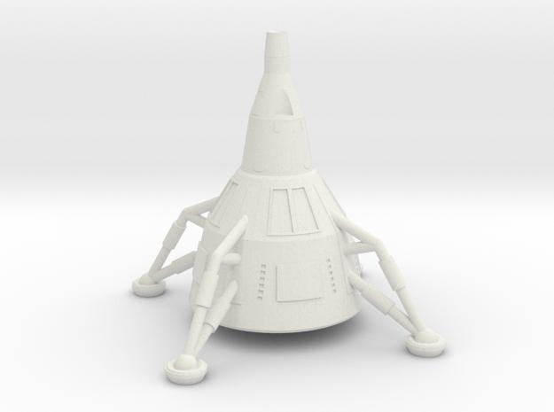 NASC Gemini Lander (S) in White Strong & Flexible
