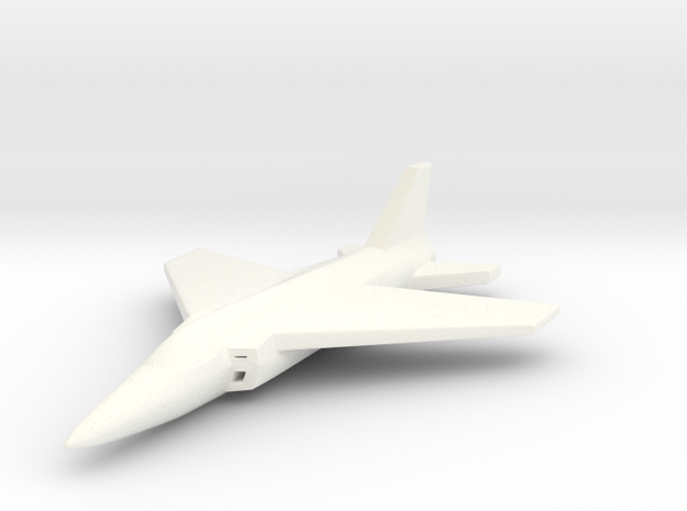 1/285 (6mm) Folland-Gnat 3d printed