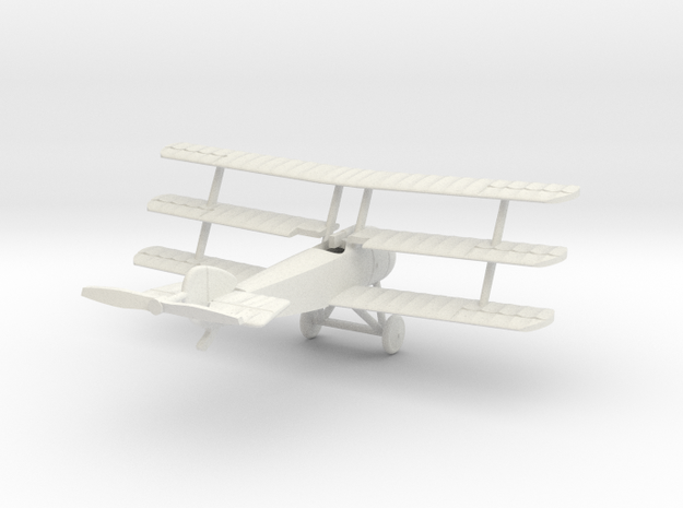 1/144 Sopwith Triplane in White Natural Versatile Plastic