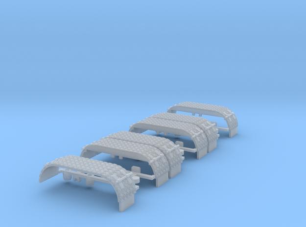 Kotflügel-doppel mit Krähenfußblech-neu -WLF 3x 3d printed