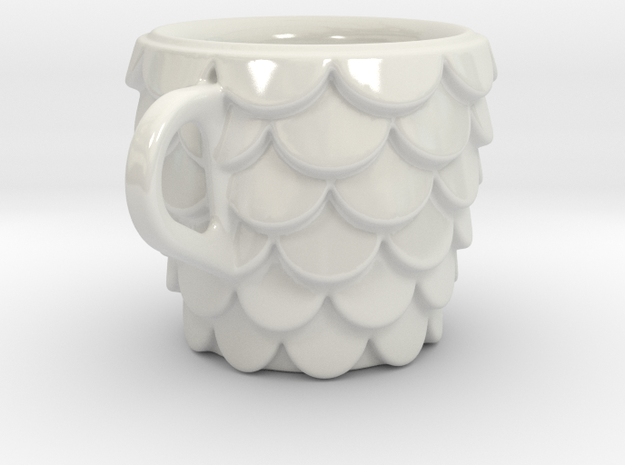 one cup a day | Day 15: Fish Scales Cup 3d printed