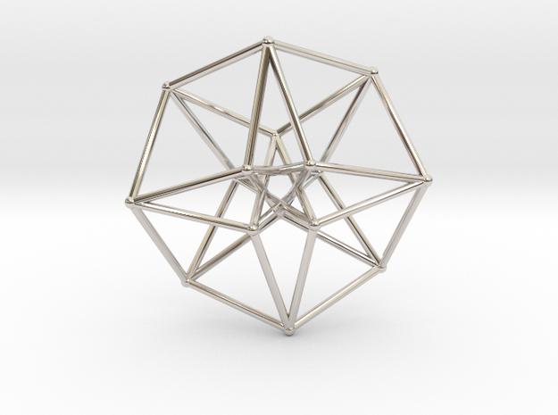 Toroidal Hypercube 35mm 1mm Time Traveller 3d printed