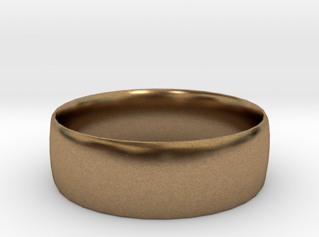 men's and women's ring size 11 3d printed