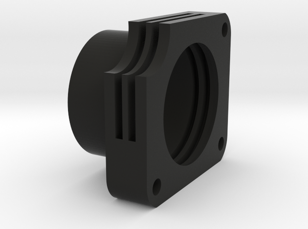 Illum Optic Holder in Black Natural Versatile Plastic