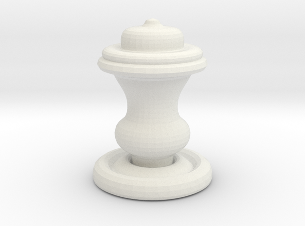 Chess Piece-King 3d printed