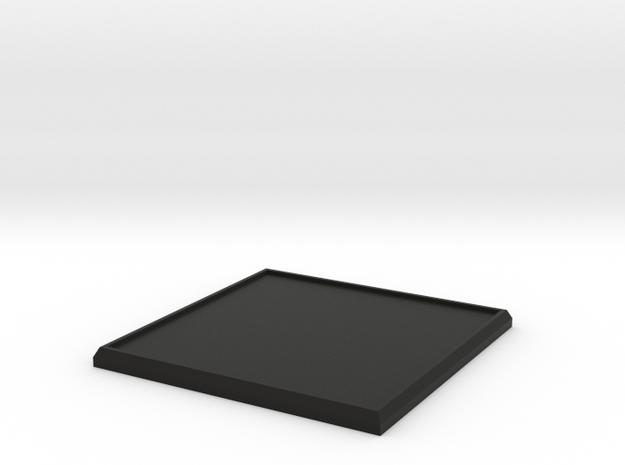 Square Model Base 50mm 3d printed