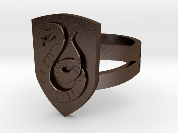 Slytherin Ring Size 7 3d printed