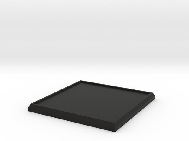 Square Model Base 40mm 3d printed
