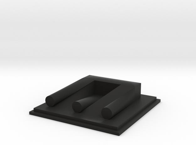 Blivet (Devil's Tuning Fork, or Poiuyt) 3d printed
