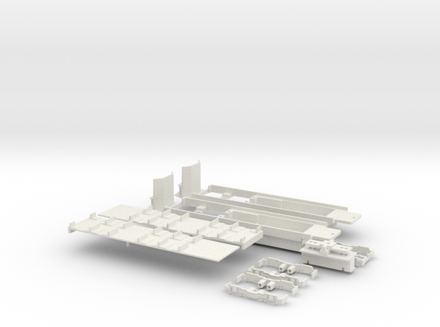Fahrgestell Stadtbahnwagen B in White Natural Versatile Plastic