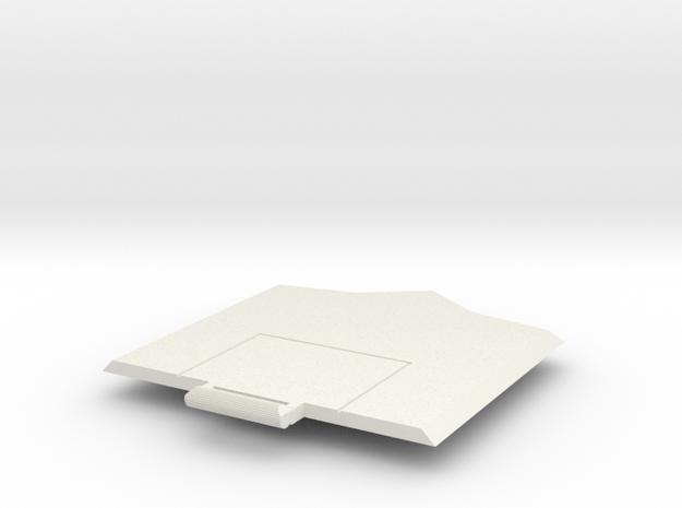 Sunlink - Op Top v. 1D in White Natural Versatile Plastic