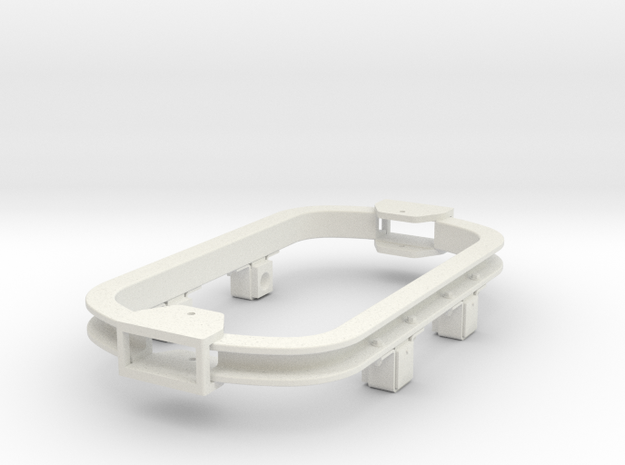 1/35 or 1/32 scale skip chassis ( Kadee couplers) 3d printed