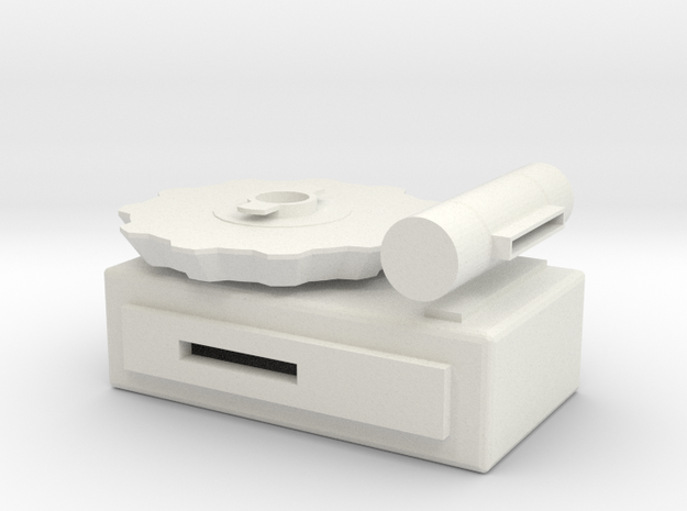 Keytool Copland in White Natural Versatile Plastic