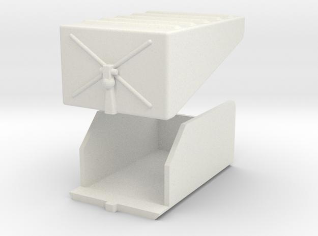 Battery-box-assy in White Natural Versatile Plastic