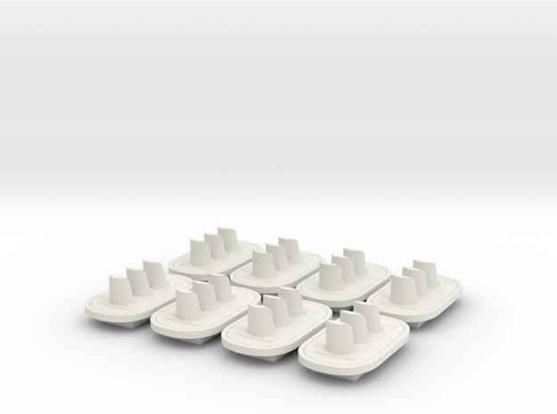 Stoplicht 3lichts (8st.) in White Strong & Flexible