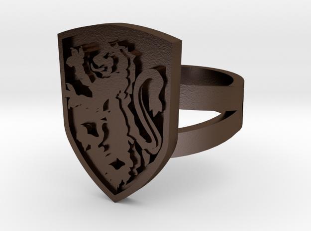 Gryffindor Ring Size 6 3d printed