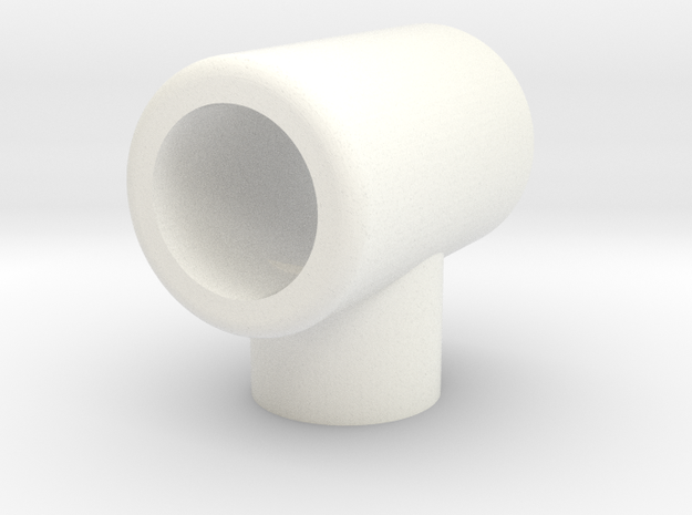 SNCV lampe de toiture-NMVB daklamp-SNCV headlamp in White Strong & Flexible Polished