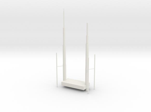 Willis Tower Antennae 3d printed