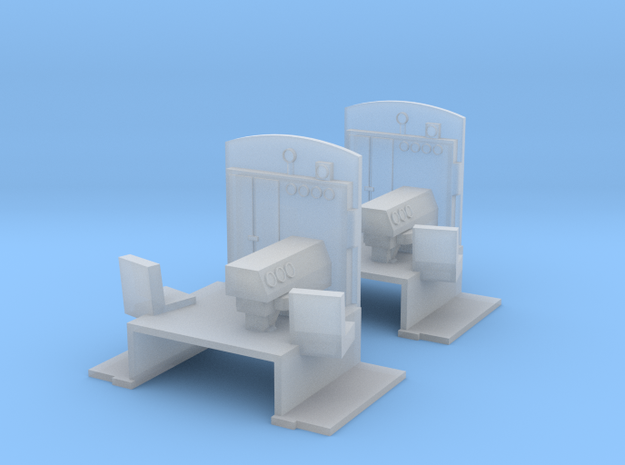N-Scale FM H-10-44 Cab Interiors (Detail Part) in Smooth Fine Detail Plastic