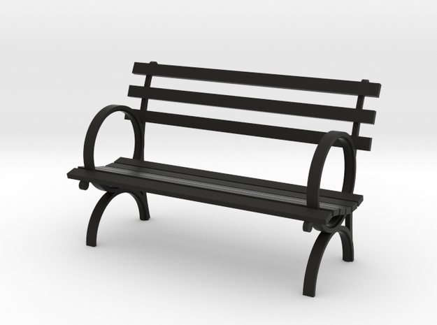 "1:24 Old Park Bench 54"" (Not Full Scale) 3d printed"