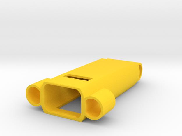 Fitbit Flex Pendant (Y-Wing) 2 in Yellow Processed Versatile Plastic