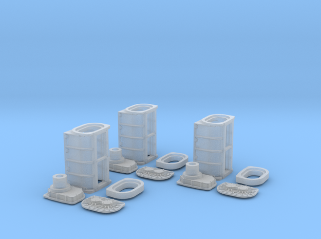 1/16 GMC Super Charger 3 Pack 3d printed
