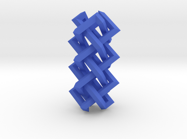 Right-angled Braidwork II 3d printed
