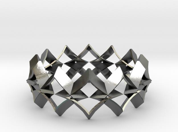 bracelet 01 Silver in Polished Silver
