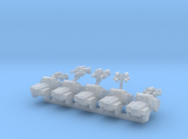 1/300 Humber Hornet x5 3d printed