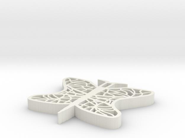 Filigran Butterfly 3d printed