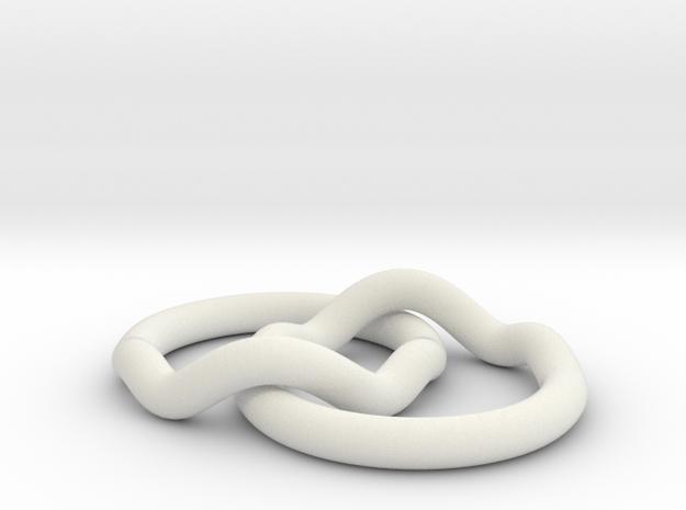 Ringaring in White Natural Versatile Plastic
