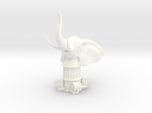 Elephant Rook (Square Base)