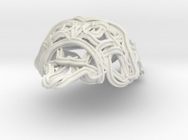 collier VKTR in White Natural Versatile Plastic