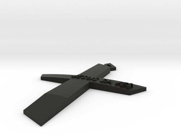 Cross-jesus saves 3d printed