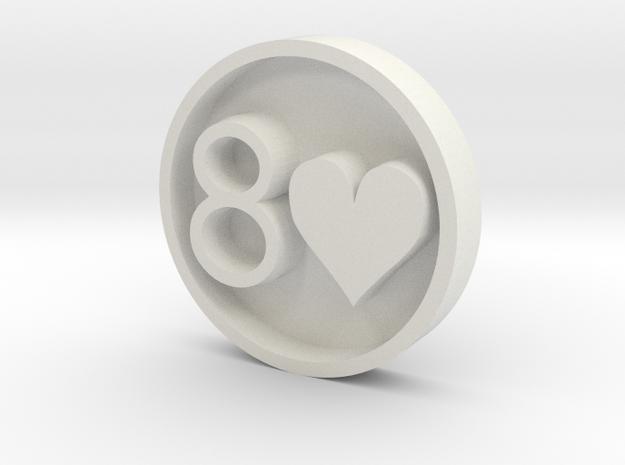 8H_Stamp_v2 3d printed
