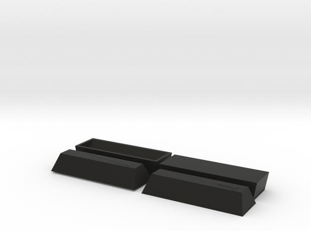 2 Coffin, TT, 1:120 3d printed