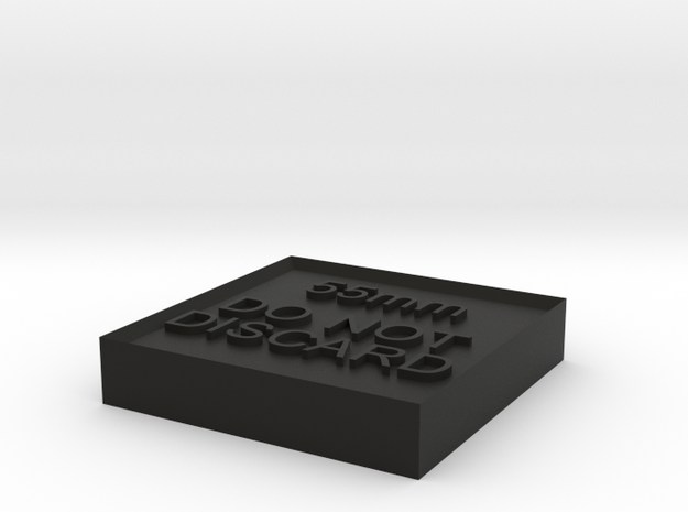 Alignment Block 55mm 3d printed